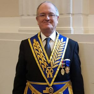 W.Bro Hugh Saville Provincial Grand Almoner has been awarded the rank of PAGDC